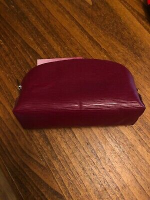 Louis Vuitton Raspberry Epi Make Up Bag In Used But Lovely Condition • 290£