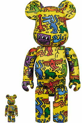 $259.99 • Buy Medicom Toy BE@RBRICK KEITH HARING #5 100% & 400% Figure Japan New Limited
