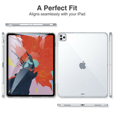 Transparent Clear Silicone Case Cover Apple IPad 2/3/4 AIR MINI PRO 10.5 10.2NEW • 2.79£