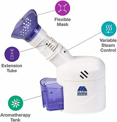 $53.95 • Buy MABIS Personal Steam Inhaler Vaporizer With Aromatherapy Diffuser