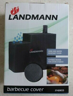 Genuine LANDMANN Barbecues 31426CO Kentucky Smoker Barbecue Cover BBQ - Grey NEW • 179.99£