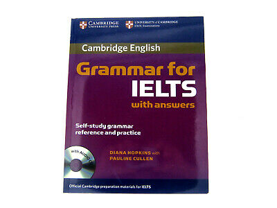 £12.48 • Buy Cambridge Grammar For Ielts Self-study And Practice With Answers And Audio Cd