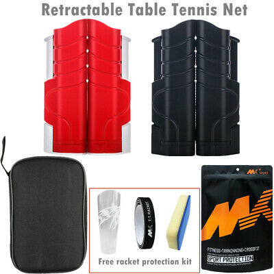 AU23.99 • Buy Retractable Table Tennis Net 190x15CM Rack Portable Replacement Ping Pong Sports