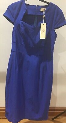 Brand New With Tags, Grace Karin Cobalt Blue Dress With Slight Stretch, Size M • 8£