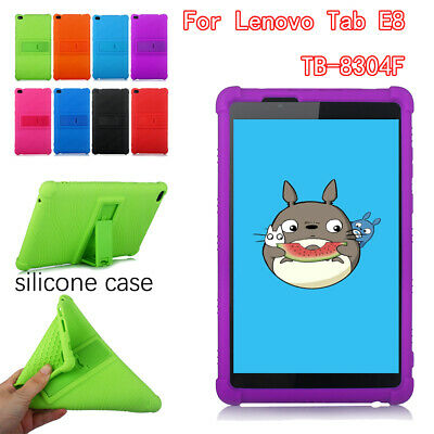 AU19.82 • Buy Stand Tablet Case For Lenovo Tab E8 TB-8304F Shockproof Washable Silicone Cover