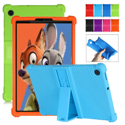 AU21.82 • Buy Silicone Stand Case For Lenovo Tab M10 FHD Plus TB-X606F/X Tablet Cover 10.3''