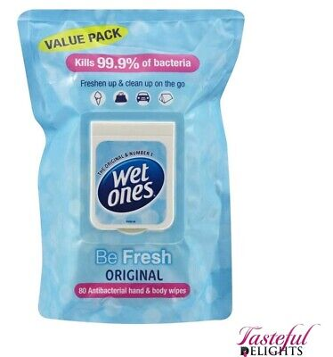 $ CDN6.72 • Buy Wet Ones 80's Be Fresh Wipes