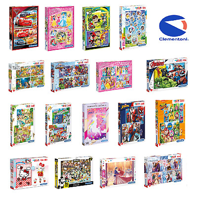Clementoni 20 - 500 Piece Jigsaw Puzzle For Children - More Options To Choose • 9.99£