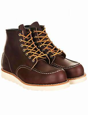 Red Wing 8138 Heritage Work 6  Moc Toe Boot - Briar Oil Slick • 269£