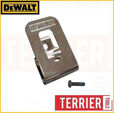 Dewalt 18v Cordless Drill Belt Clip Hook & Screw DCD740 DCD780 DCD780L2 DCD785 • 6.89£