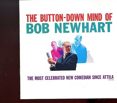 Bob Newhart / The Button-Down Mind Of Bob Newhart - MINT • 2.50£