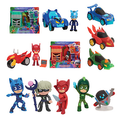 PJ Masks Play Sets,Glow Wheeler,Cat Boy,Super Space Rover - FAST & FREE DELEVERY • 7.99£