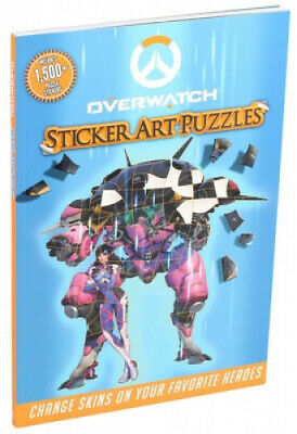 AU29.69 • Buy Overwatch Sticker Art Puzzles (Sticker Art Puzzles)