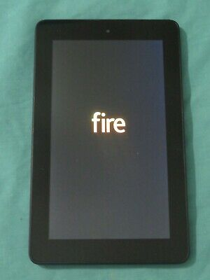 AU74.67 • Buy Amazon Fire 7 Touchscreen Tablet Kindle 7  Display 8 GB Black SV98LN Great Cond