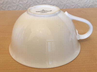 Villeroy & Boch White Arco Weiss 4  Tea Cup Excellent Condition • 15£
