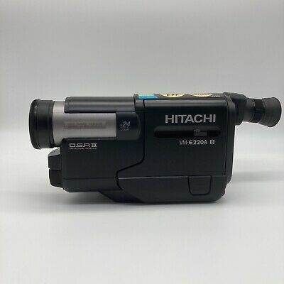 $ CDN120.81 • Buy Hitachi VM-E220A 8mm Video Camcorder X24 Digital Zoom Made In Japan - Tested