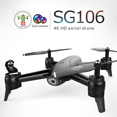AU99.99 • Buy SG106 Wifi GPS FPV Drone With 4K Camera Foldable RC Quadcopter Drone 1080P🧸
