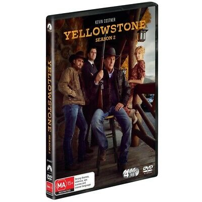 AU37.95 • Buy BRAND NEW Yellowstone : Season 2 (DVD, 4-Disc Set) *PREORDER R4 Kevin Costner