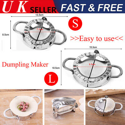 Dumpling Mould Press Meat Pie Pastry Maker Dough Cutter Tool Stainless Steel NEW • 8.27£