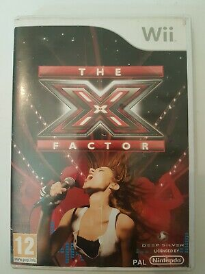 THE X FACTOR, Wii Game. Perform 28 Different Tracks, Diva,  Rock & Pop. • 4£