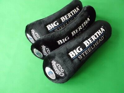 $ CDN60 • Buy Callaway® Fairway Wood Head Cover: Big Bertha Steelhead  #3,#5 & #7 / 3pcs