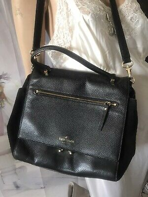 $ CDN69.99 • Buy Vintage Kate Spade  Leather  Crossbody Tote Bag