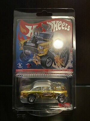 $49.99 • Buy 2019 Hot Wheels RLC Selections Dirty Blonde '55 Chevy Gasser