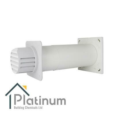 £98.80 • Buy Passyfier 100 WHITE | Core Dehumidifier Wall Vent Kit | Condensation Control