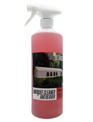 £9.19 • Buy Heavy Duty Marquee Tent Inflatable PVC And Canvas Cleaner Relancer 1L Bottle