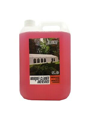 £17.99 • Buy Heavy Duty Marquee Tent Inflatable PVC And Canvas Cleaner Relancer 5L Jerry