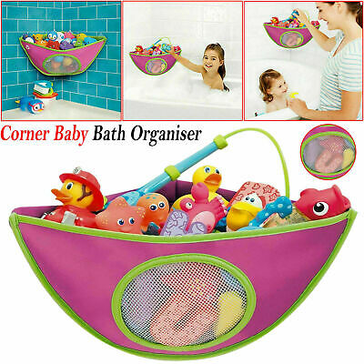 Kids Baby Bath Toy Tidy Organiser Mesh Net Storage Bag Peli Play Pouch Holder UK • 6.25£
