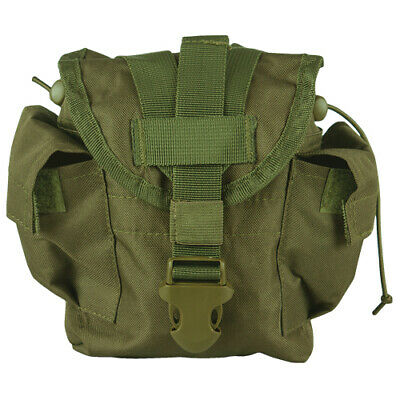 $ CDN25.25 • Buy NEW Military Style Tactical Survival MOLLE 1 Qt Canteen Cover Pouch OD GREEN OLV