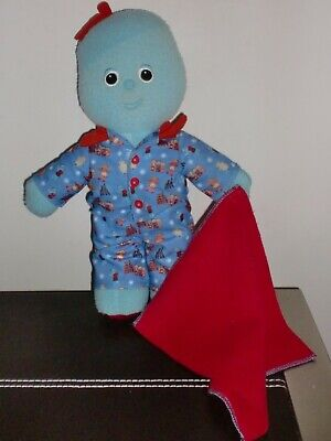"""IN THE NIGHT GARDEN IGGLE PIGGLE 12"""" Soft Toy In Pyjamas By Hasbro • 12£"""