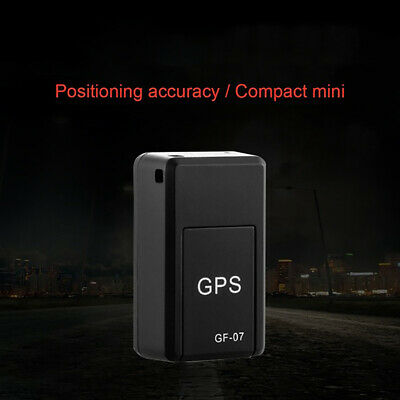 AU10.82 • Buy GF07 Mini GPS Real Time Car Locator Tracker Magnetic GSM/GPRS Tracking Device