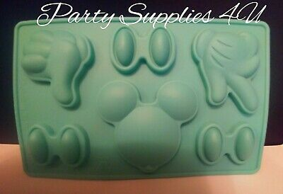 Disney Mickey Silicone Mould/mold. Hand/thumbs Up/Minnie/Chocolate/party/fondant • 5.50£