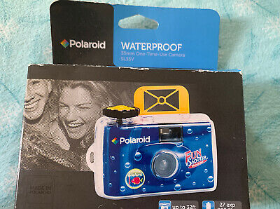 £8.52 • Buy Polaroid Underwater Disposable Camera Sport Waterproof 35mm Film Expired 6/ 2016