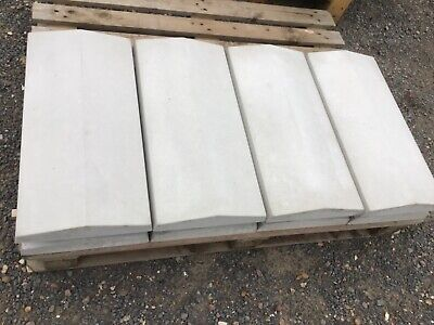 """Coping stones - 7/"""" delivery 180mm x 600mm Twice weathered various colours"""