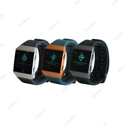 $ CDN125.22 • Buy Fitbit IONIC Smartwatch Bluetooth GPS Activity Tracker S&L Bands Refurbished