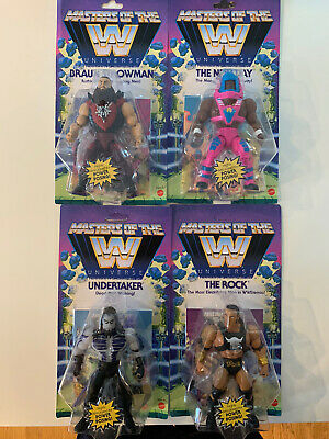 $118.98 • Buy Masters Of The WWE Universe Set Wave 3 The Rock Undertaker New Day Strowman NEW