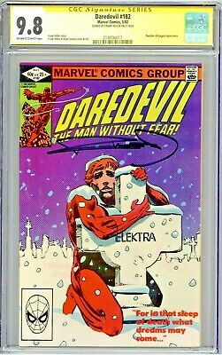 £304.43 • Buy Daredevil #182 CGC 9.8 SS Frank Miller Signed Punisher Kingpin App OW/W Pages