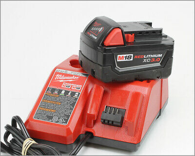 $ CDN55.04 • Buy MILWAUKEE M18 - Red Lithium XC3.0 Battery W/ Charger M12 M18