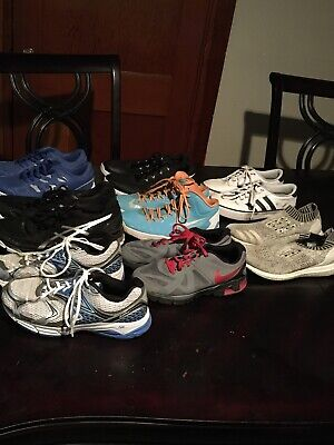 $ CDN260.32 • Buy Lot Of 8 Pair Of Men Shoes -Nike-Adidas-New Balance And Others For Use Resale #1