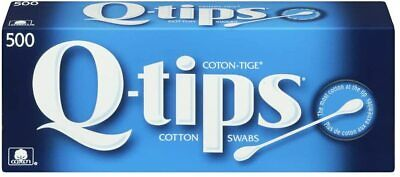$ CDN19.50 • Buy Q Tips Cotton Swabs Original 500 Count Qtips Brand New