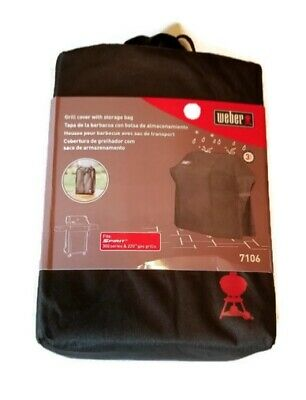 $ CDN57.79 • Buy Weber 7106 Grill Cover With Storage Bag For Spirit 220 And 300 Series Gas...