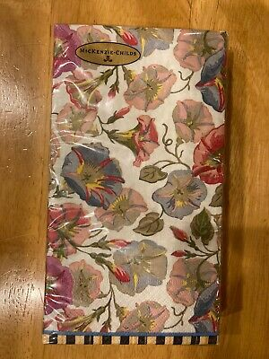 $16.95 • Buy Mackenzie-Childs Morning Glory Paper Napkins - Guest  ~ NEW
