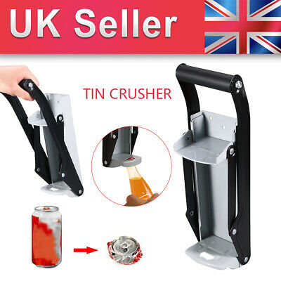 16oz 500ml Large Beer Tin Can Crusher Wall Mounted Recycling Tool Bottle Opener • 10.18£