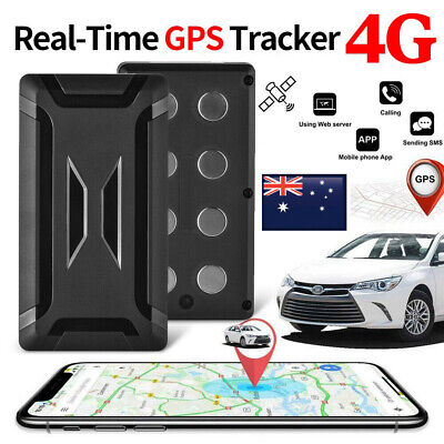 AU118.98 • Buy Magnetic 4G GPS Tracker Car GSM GPRS Real Time Tracking Locator Device AU MA2034