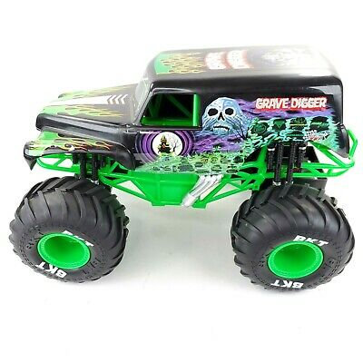 New Bright Grave Digger RC Truck Scale 12  Long MONSTER TRUCK Not Tested • 28.77£