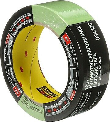 $ CDN13.93 • Buy 3M 03433 One Roll 233+ Green Automotive Performance Masking Tape 1.41  X 35 Yds
