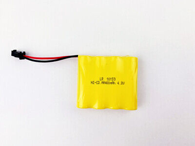 AU14.95 • Buy 4.8V Rechargeable Ni-Cad 400mAh Battery Pack
